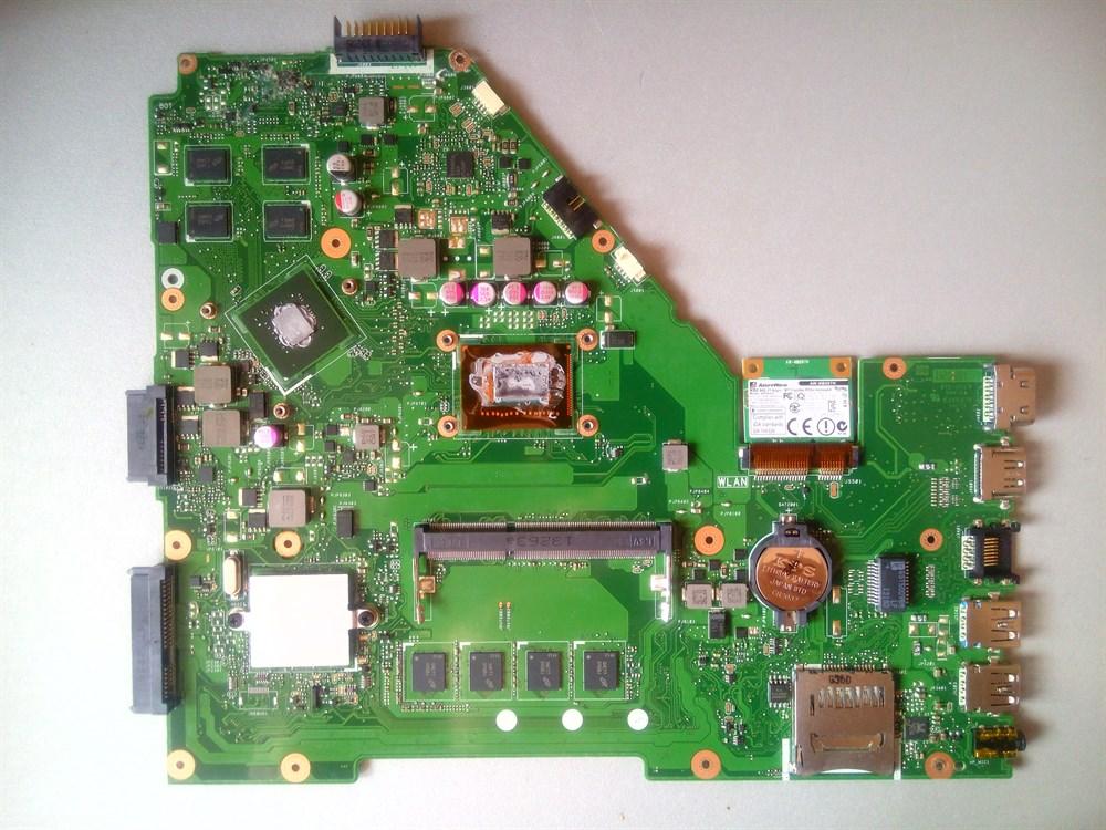 Материнская плата ASUS X550CC 4Gb Celeron 1007U 1,5GHz nVidia GeForce GT710M (видеочип nVidia N14M-GL1-OP-S-A1), 60NB00W0-MBV400