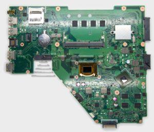 Материнская плата ASUS X550CC 4Gb i3-3217U 1,8GHz nVidia GeForce GT720M (видеочип nVidia N14M-GE-S-A2), 60NB00W0-MBT010